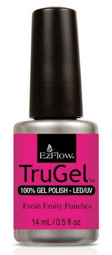 Ezflow Trugel Led/UV Gel Polish - Fresh Fruity Punches - 0.5oz/14ml